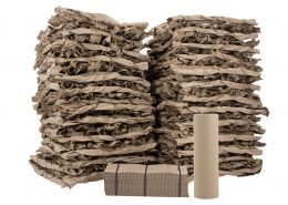 Papirfyld kan bruges som kassefyld til både lette og tunge produkter
