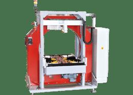 Fuldautomatisk dækmaskine